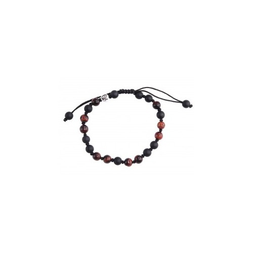 Bracelet Sublime Agate et Oeil de Taureau