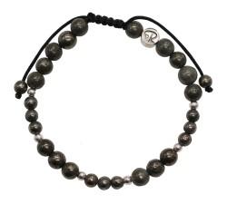 Bracelet Femme en Pyrite et Argent 925