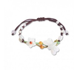Bracelet Papillon de nuit - Jade