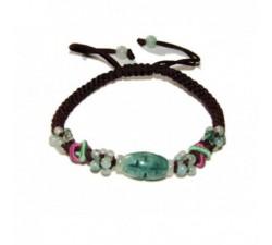 Bracelet D'Orient en Jade - Marron