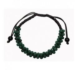 Bracelet Perles de jade Vert