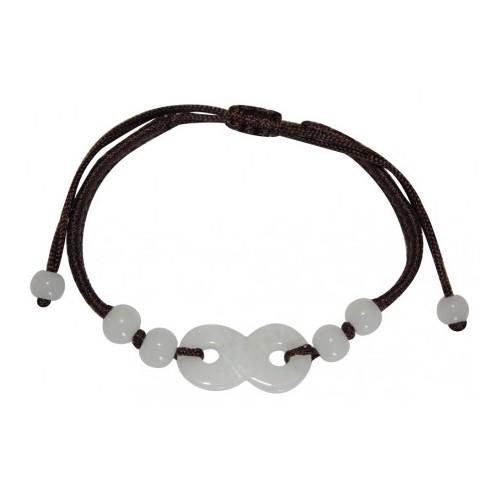 Bracelet Infini en jade