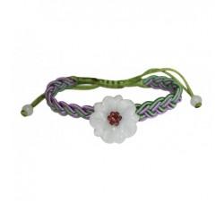 Bracelet Anémone en jade