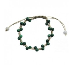 Bracelet Temptation en Malachite