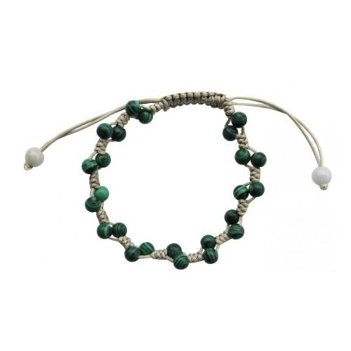 Bracelet Temptation en Malachite