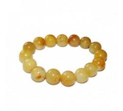 Bracelet Tout Jade - Jaune