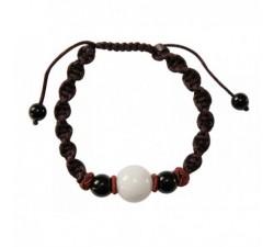 Bracelet Triptic en jade