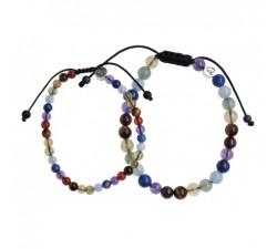 Bracelets de Couple 7 Chakras