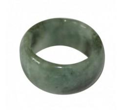 Anneau large en jade