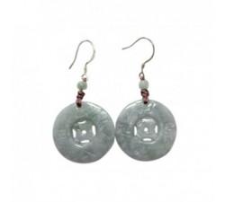Boucles d'oreilles Limbo en jade