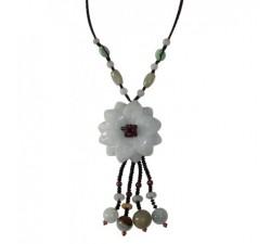 Bracelet Eternel en jade vert