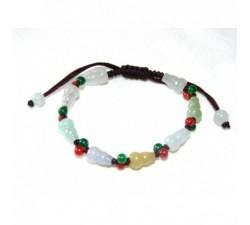 Bracelet Marguerite - Marron