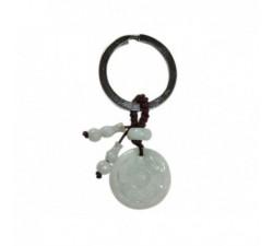 Bracelet en jade Sixties - Marron