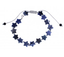 Bracelet estrella en Sodalite