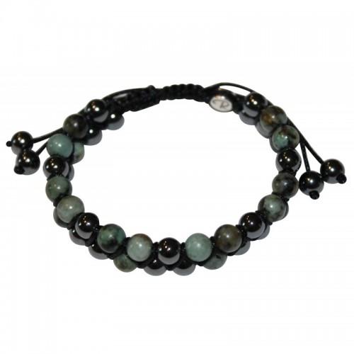 Bracelet New Génération Turquoise / Hématite