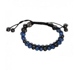 Bracelet New génération Hematite/Lapis Lazuli