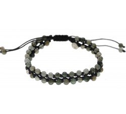 Bracelet Fleur d'été en Jade
