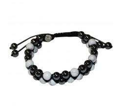 Bracelet New Génération Howlite / Hématite