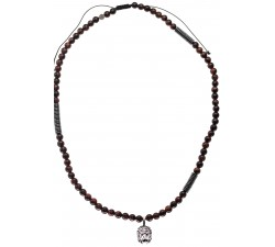 Bracelet Shamballa en Hématite