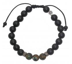 Bracelet Espoir en jade vert