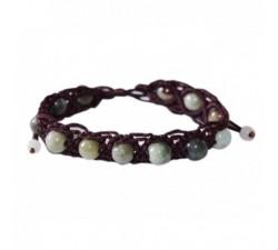 Bracelet Shamballa en jade