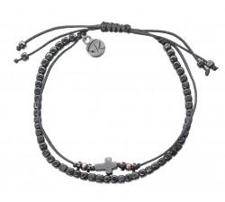 Bracelet Saint en Hématite