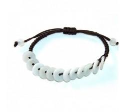 Bracelet Disque de jade