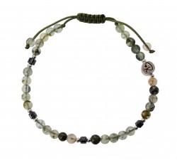 Bracelet Temptation en pierre de nuit