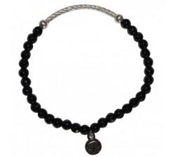 Bracelet Ancrage en Onyx