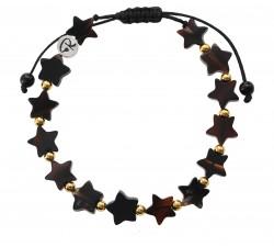 Bracelet Estrella en Agate et Plaqué Or