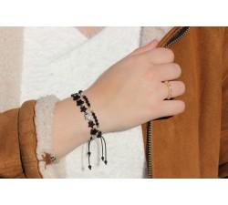 Bracelet New génération Hematite/Turquoise