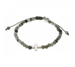 Bracelet Fan en Lapiz Lazuli