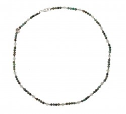 Bracelet Infini en Apatite et Oeil de tigre