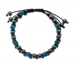 Bracelet Arlequin en jade
