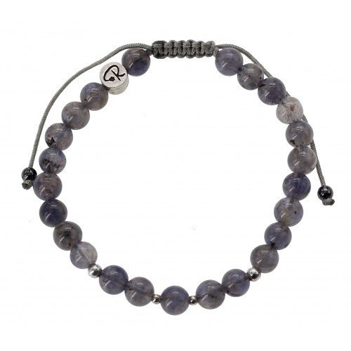 Bracelet en Iolite et Argent 925