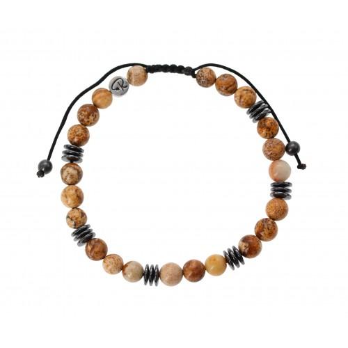 Bracelets de couple Apatite et Labradorite
