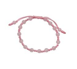 Bracelet Amore pour enfant en Quartz Rose