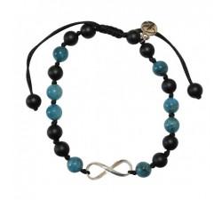 Bracelet Infini en apatite