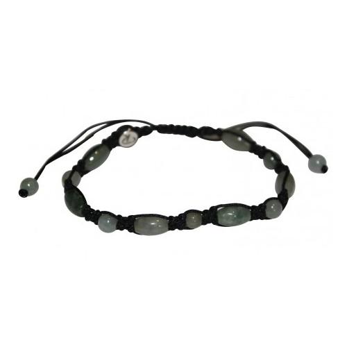Bracelet Antique en jade vert