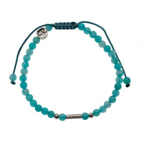 Bracelet Uriel - Amazonite et Argent 925