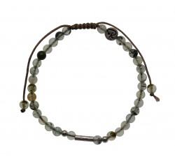 Bracelet Uriel - Préhnite et Argent 925