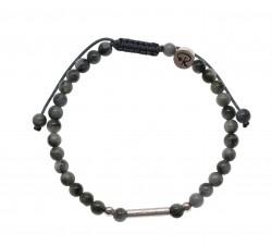 Bracelet Urien - Quartz Oeil de Chat et Argent 925