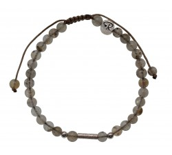 Bracelet Uriel - Labradorite et Argent 925