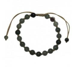 Bracelet légéreté en jade vert